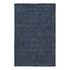 Kaleen Regale 7-ft 6-in x 9-ft Rectangular Blue Solid Area Rug