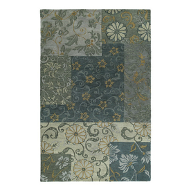 Kaleen Calais Rectangular Multicolor Transitional Wool Area Rug (Common: 10-ft x 13-ft; Actual: 9-ft 6-in x 13-ft)