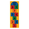 Learning Carpets Play Carpets Multicolor Indoor/Outdoor Runner (Common: 2-ft x 7-ft; Actual: 24-in x 78-in)