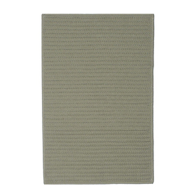 Colonial Mills 27-in x 17-in Olive Rectangular Door Mat