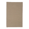Colonial Mills 27-in x 17-in Taupe Rectangular Door Mat