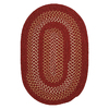 Colonial Mills Georgetown Cedar Rose Round Indoor/Outdoor Braided Area Rug (Common: 6 x 6; Actual: 72-in W x 72-in L)