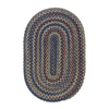 Colonial Mills Oak Harbour 4-ft x 6-ft Oval Multicolor Transitional Area Rug