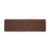 Colonial Mills Portico 8-in W x 2-ft 4-in L Brown Runner