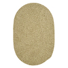 Colonial Mills Spring Meadow 4-ft x 6-ft Oval Green Solid Indoor/Outdoor Area Rug