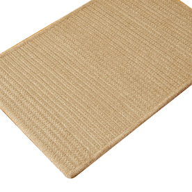 Colonial Mills Solid Chenille Rect 24-in W x 11-ft L Runner