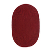 Colonial Mills Softex 9-ft x 12-ft Oval Solid Area Rug