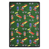 Joy Carpets Pit Stop 64-in x 46-in Rectangular Multicolor Sports Indoor Use Only Area Rug