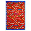 Joy Carpets Crayons 11-ft 2-in x 10-ft 9-in Rectangular Multicolor Holiday Area Rug