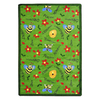Joy Carpets Bee Attitudes 7-ft 8-in x 5-ft 4-in Rectangular Multicolor Holiday Area Rug