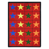 Joy Carpets Star Space 7-ft 8-in x 5-ft 4-in Rectangular Multicolor Transitional Area Rug