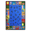 Joy Carpets Count On Me 11-ft 2-in x 10-ft 9-in Rectangular Multicolor Holiday Area Rug