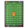 Joy Carpets Football Fun 7-ft 8-in x 5-ft 4-in Rectangular Multicolor Sports Area Rug