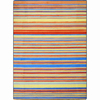 Joy Carpets Latitude 7-ft 8-in x 5-ft 4-in Rectangular Multicolor Transitional Area Rug