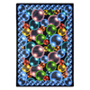 Joy Carpets Bubbles 5-ft 4-in x 3-ft 10-in Rectangular Multicolor Geometric Area Rug