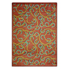 Joy Carpets Rodeo 5-ft 4-in x 3-ft 10-in Rectangular Multicolor Transitional Area Rug
