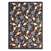 Joy Carpets Retro Bowl 10-ft 9-in x 7-ft 8-in Rectangular Multicolor Sports Area Rug