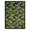 Joy Carpets Funky Camo 11-ft 2-in x 10-ft 9-in Rectangular Multicolor Transitional Area Rug