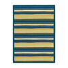 Joy Carpets Yipes Stripes 7-ft 8-in x 5-ft 4-in Rectangular Multicolor Geometric Area Rug