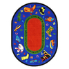 Joy Carpets Walk In Faith 13-ft 2-in x 13-ft 2-in Round Multicolor Holiday Area Rug