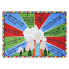 Joy Carpets Ten Commandments 7-ft 8-in x 5-ft 4-in Rectangular Multicolor Religious Area Rug