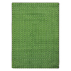Joy Carpets Legacy 13-ft 2-in x 10-ft 9-in Oval Green Solid Area Rug