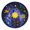 Joy Carpets Cosmic Wonders 13-ft 2-in x 13-ft 2-in Round Multicolor Educational Area Rug