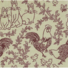 Joy Carpets Feathers and Fur 7-ft 8-in x 5-ft 4-in Rectangular Multicolor Transitional Area Rug