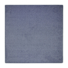 Joy Carpets Endurance 6-ft x 6-ft Square Blue Solid Area Rug