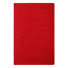 Joy Carpets Endurance 6-ft x 6-ft Square Red Solid Area Rug