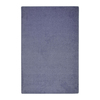 Joy Carpets Endurance 9-ft x 6-ft Rectangular Blue Solid Area Rug