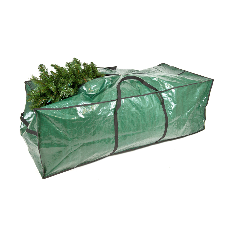 shop treekeeper 25 in x 15 in ft polyester christmas tree storage bag at. Black Bedroom Furniture Sets. Home Design Ideas