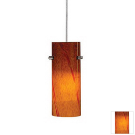 Cascadia Lighting Satin Nickel Flexible Track Light Pendant