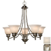Galaxy 5-Light Dover Brushed Nickel Chandelier