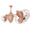 Matthews Ar Ruthiane 13-in Polished Copper Downrod Mount Ceiling Fan (6-Blade)