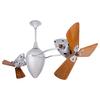 Matthews Ar Ruthiane 16-in Brushed Nickel Downrod Mount Indoor Ceiling Fan (6-Blade)