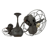 Matthews Vent Bettina 13-in Bronze Downrod Mount Indoor/Outdoor Ceiling Fan (6-Blade)