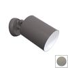 Remcraft Lighting Cylinders 5.875-in W Grey Glass Semi-Flush Mount Light