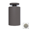 Remcraft Lighting Cylinders Gray Outdoor Flush-Mount Light