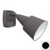 Remcraft Lighting Black Outdoor Flush Mount Light