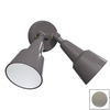 Remcraft Lighting Swedish Modern Gray Outdoor Flush-Mount Light