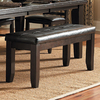 Homelegance Hawn Espresso 48-in Dining Bench