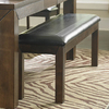 Homelegance Eagleville Warm Brown Cherry 60-in Dining Bench