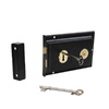 Gatemate Black Steel Lock