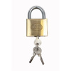 Gatemate Brass Regular Shackle Keyed Padlock