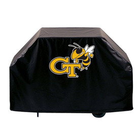 Holland Georgia Tech Vinyl 72-in Grill Cover