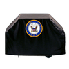 Holland United States Navy Seal Vinyl 72-in Grill Cover