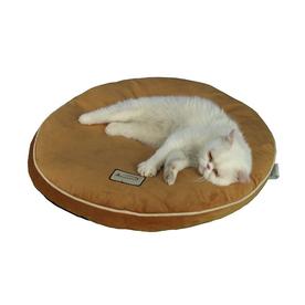 Armarkat Brown Soft Velvet Round Dog Bed
