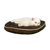 Armarkat Mocha Soft Velvet Round Dog Bed