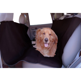 Majestic Pets 58-in Black Fabric Seat Cover